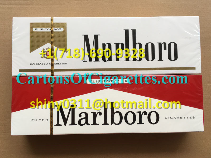 10 Cartons Of Marlboro Gold Regular Cigarettes