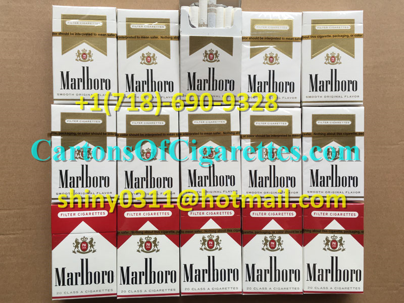 100 Cartons Of Marlboro Gold Regular Cigarettes