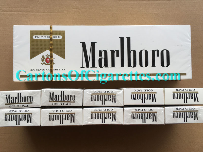 20 Cartons Of Marlboro Gold Regular Cigarettes