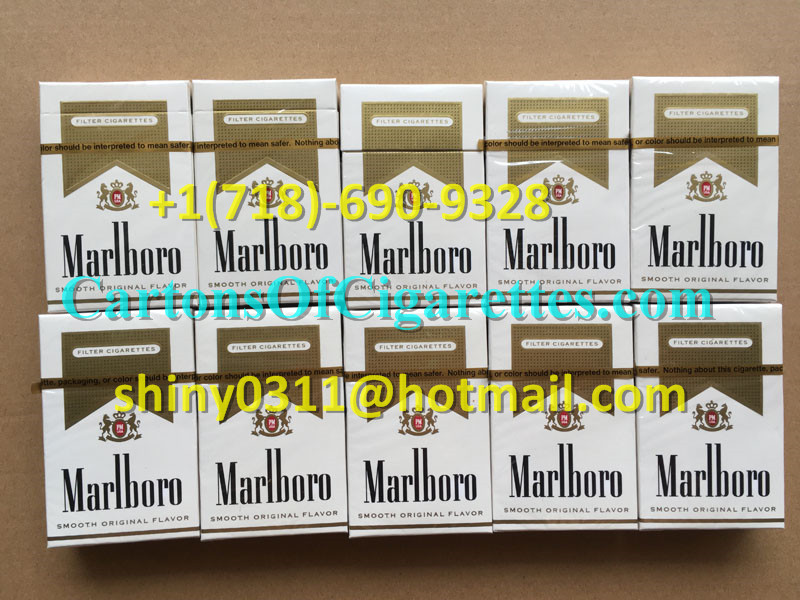 30 Cartons Of Marlboro Gold Regular Cigarettes