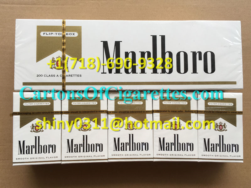 40 Cartons Of Marlboro Gold Regular Cigarettes
