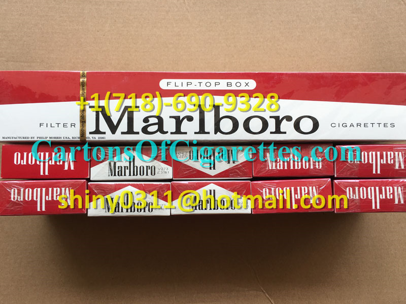 10 Cartons Of Marlboro Red Regular Cigarettes