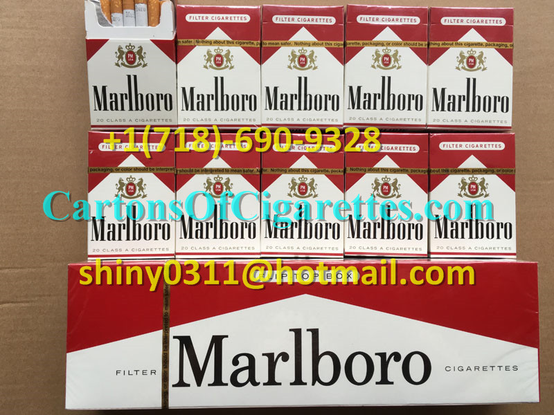 100 Cartons Of Marlboro Red Regular Cigarettes