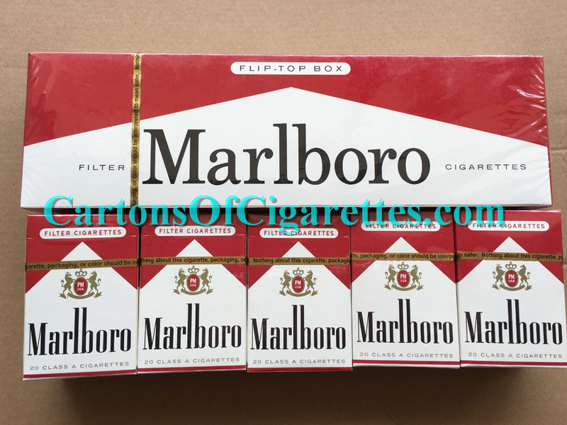 20 Cartons Of Marlboro Red Regular Cigarettes