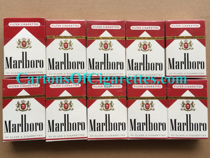 50 Cartons Of Marlboro Red Regular Cigarettes