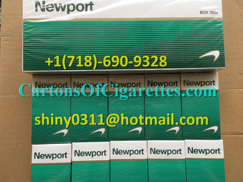 100 Cartons Of Newport 100s Cigarettes
