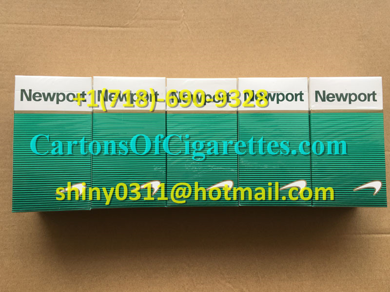 3 Cartons Of Newport 100s Cigarettes