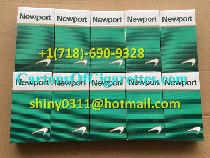 30 Cartons Of Newport 100s Cigarettes