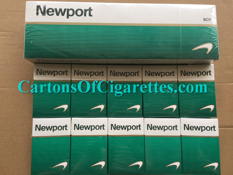 50 Cartons Of Newport Short Cigarettes