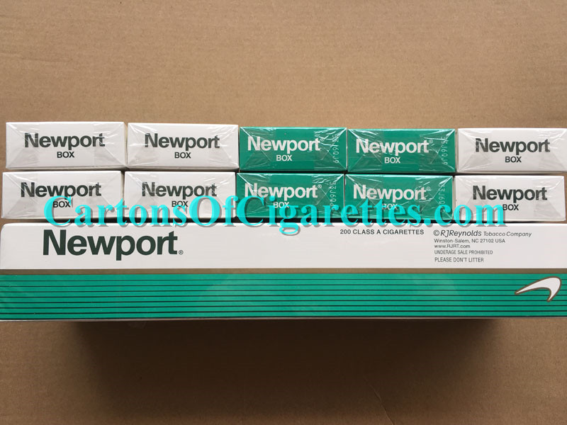 6 Cartons Of Newport Short Cigarettes